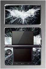 Batman The Dark Knight Rises Arkham City Video Game SKIN Cover Nintendo 3DS