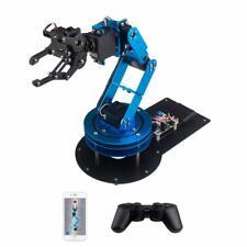 LewanSoul LeArm 6DOF Full Metal Robotic Arm with Servo, Controller, Wireless Han