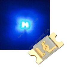 100x Led CMS SMD 1206 Bleu à souder PLCC-2 - blue 1206 smd haute luminosité