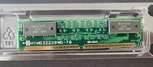 8 MB 72-pin EDO RAM SIMM - from Acorn RiscPC (also A7000) - Hynix HYM532220WG-70