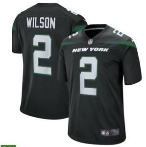 Zach Wilson Black Men's Game Jersey Jets