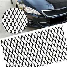 "40""x13"" High Quality Car SUV Front Grille Net Vent Tuning Grill Black 3*6mm Mesh"