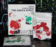 The Santa Strut 3D Wind-Up Puzzle christmas holiday novelty toy puzzles Set Of 2