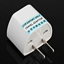 Universal EU UK AU A US USA AC Traje Plug Power Adapter de salida del convertido