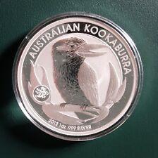 2012 Australia Kookaburra 1 oz 999 Silver Coin - Dragon Privy BU in plastic cap