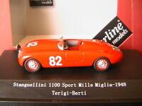 STANGUELLINI 1100 SPORT #82 1000 MIGLIA 1948 TERIGI BERTI STARLINE 540117 1/43