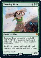 1x Towering Titan - Jumpstart MYTHIC Green Creature - MTG NM EDH Magic - MTG_Dom