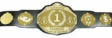 Sales Championship Belt - Add Your Own Text - Black/Gold