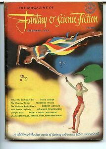 Fantasy and Science Fiction Vol 2 No 6. 1951 Approx grading : Good
