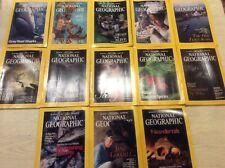 National Geographic Magazine January 1995 to January 1996 inclusive