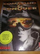 18 Command & Conquer Big Box PC-CD Rom Game Retro Strategy Military Gaming