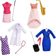 Barbie Doll Careers Fashion Pack Golfer SAXOPHONE PLAYER Doctor FLIGHT ATTENDANT