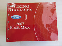 2007 Ford Edge, MKX Wiring Diagrams | eBay