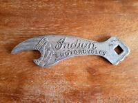 Indian Motorcycle Bottle Opener Solid Cast Aluminum Metal Beer Brewery Soda