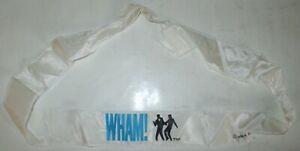 1984 WHAM SOUVENIR TOUR HEADBAND BANDANA with LOGO GEORGE MICHAEL 2 x 44 inches