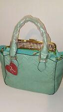 Womens Cool Mint Green Spring Summer Shoulder Handbag