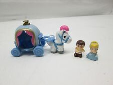 Disney Squinkies Cinderella, Prince Charming, & Horse and Carriage (C1)
