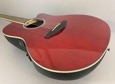 Ovation CS24-RR Celebrity Standard Mid Depth Ruby Red Akustik Gitarre