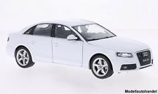 Audi a4 blanco 2009 - 1:24 Welly