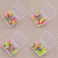 50Pcs Bird Bear Bobbin Tulip Patchwork Pins DIY Quilting Tool Sewing Accessories