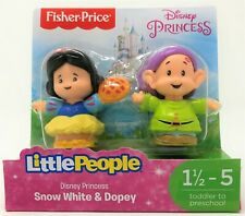 Little People Disney Princess Snow White and Dopey Figure Toy