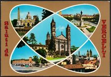 AD4427 Saluti da Vercelli - Vedute - Cartolina postale - Postcard