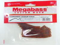 "Megabass - TOURNAMENT CRAWLER 3.5"" #04 EBIMISO RED FLAKE"