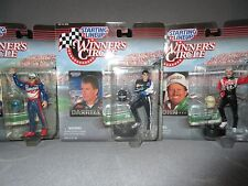 NEW KENNER STARTING LINE UP 1997 WINNERS CIRCLE LOT OF 3 NASCAR DRIVERS*