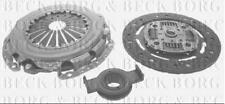 HK6156 BORG & BECK CLUTCH KIT 3-in-1 fits Ford Escort, Fiesta, 1.8D