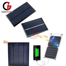 0.6/1/10W 0.5/5/6V 100mA Epoxy Cell Photovoltaic Solar Panel Battery Charger