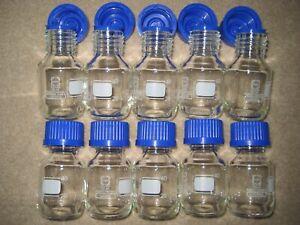 SCHOTT - DURAN GLAS -   Laborflaschen 10 x 50 ml _...c