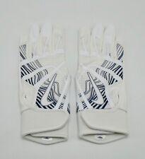 Nike HyperDiamond Edge Batting Gloves Women's Medium White/white/Black