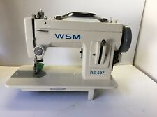 Wsm Re 607 Portable Walking Foot Machine