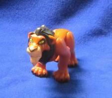 "Disney Scar Lion King 4"" Figure Vintage Burger King Toy Villain"