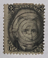 Travelstamps: 1861-66 US Stamps Scott #73 used NG Jackson 2cent Fancy Cancel