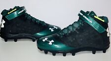 Under Armour 4D Form Men's Cleats in Green/Black (12.5)