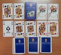 ISRAEL MEDITERRANEAN TOWERS 54 (2 JOKERS) PLAYING CARDS - p07!!