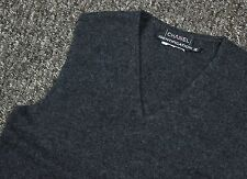 Vintage Womens Authentic Coco CHANEL Jumper Tank Top Wool Ladies