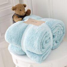 Modern Teddy Bear Super Soft Cuddly Fleece Warm Sofa Bed Blanket Throw 150x200 Chocolate