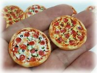 100pcs.Dollhouse miniature Spinach Pizza Sliced1.5 cm.x1 cm. 1//2 inch Free ship