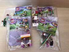 Lego Friends Bundle x 4 - 30105, 30108, 30113, 30203 - Fab!