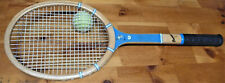 "Vintage Magnan ""Driver"" Wood Tennis Racquet: ""Custom Made"" In Usa, Clean & Nice!"