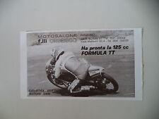advertising Pubblicità 1980 MOTO MBA 125 FORMULA TT e PICCIRILLO