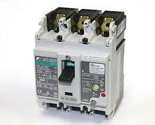 Fuji Electric EW50RAGU 3-Pole 100-230-440VAC 3P 30A Earth Leakage Circuit Breake