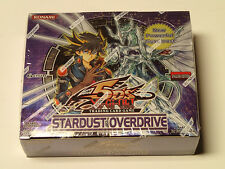 Yu-Gi-Oh CCG STARDUST OVERDRIVE factory sealed booster box! NEW!
