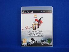 ps3 HISTORY CHANNEL Great Battles Medieval The Hundred Years War! PAL