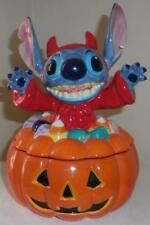 Disney Halloween Lilo and stitch cookie treat jar