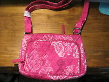Vera Bradley Little Hipster Stamped Paisley NWT Free Ship