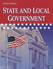 A Beka State and Local Government Study Outline - 12th Grade