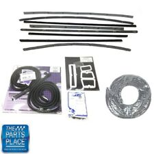 1962-63 Chevrolet Chevy II / Nova 2 Door Hardtop Weatherstrip Seal Kit
